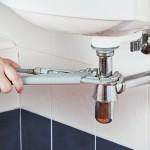 repairing sink drain